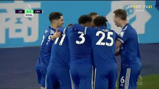 GOLO! Leicester City, K. Iheanacho aos 80', Leicester City 2-1 Crystal Palace