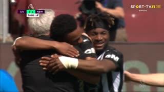 GOLO! Newcastle, J. Willock aos 90'+5', Liverpool 1-1 Newcastle