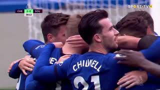 GOLO! Chelsea, T. Werner aos 28', Chelsea 2-0 Southampton