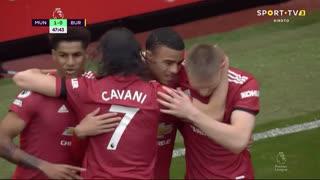 GOLO! Man. United, M. Greenwood aos 48', Man. United 1-0 Burnley