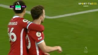 GOLO! Liverpool, Diogo Jota aos 64', Liverpool 2-1 Sheffield United