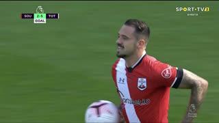 GOLO! Southampton, D. Ings aos 90', Southampton 2-5 Tottenham