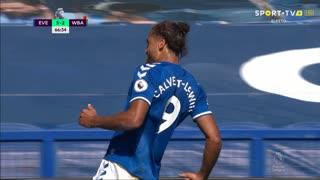 GOLO! Everton, D. Calvert-Lewin aos 66', Everton 5-2 West Bromwich Albion