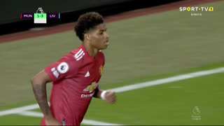 GOLO! Man. United, M. Rashford aos 68', Man. United 2-3 Liverpool