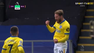 GOLO! Brighton, A. Mac Allister aos 90', Crystal Palace 1-1 Brighton