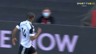 GOLO! Fulham, B. De Cordova-Reid aos 15', Fulham 1-1 Everton