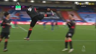 GOLO! Liverpool, Roberto Firmino aos 44', Crystal Palace 0-3 Liverpool