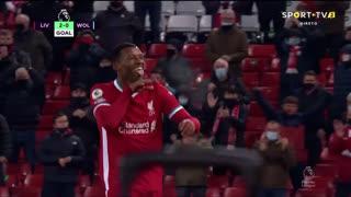 GOLO! Liverpool, G. Wijnaldum aos 58', Liverpool 2-0 Wolverhampton