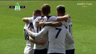 GOLO! Tottenham, Heung-Min Son aos 64', Southampton 1-3 Tottenham