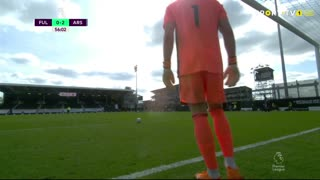 GOLO! Arsenal, P. Aubameyang aos 57', Fulham 0-3 Arsenal