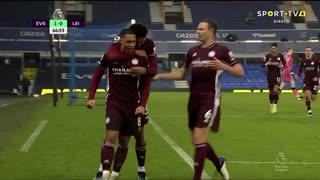 GOLO! Leicester City, Y. Tielemans aos 67', Everton 1-1 Leicester City
