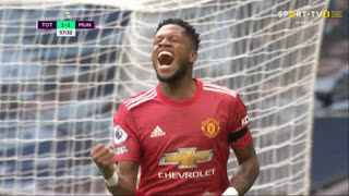 GOLO! Man. United, Fred aos 57', Tottenham 1-1 Man. United