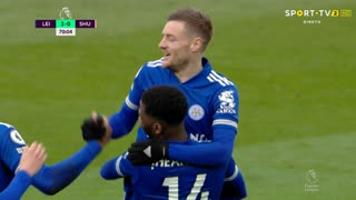 GOLO! Leicester City, K. Iheanacho aos 69', Leicester City 3-0 Sheffield United