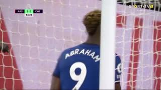 GOLO! Chelsea, T. Abraham aos 85', Arsenal 3-1 Chelsea