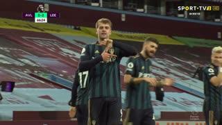GOLO! Leeds United, P. Bamford aos 67', Aston Villa 0-2 Leeds United