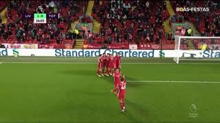 GOLO! Liverpool, Mohamed Salah aos 26', Liverpool 1-0 Tottenham
