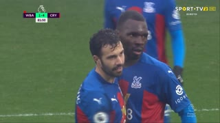GOLO! Crystal Palace, C. Benteke aos 82', West Bromwich Albion 1-5 Crystal Palace