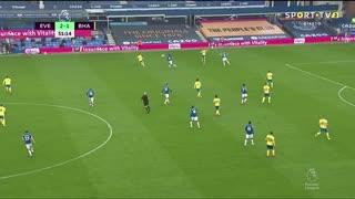GOLO! Everton, James Rodríguez aos 52', Everton 3-1 Brighton