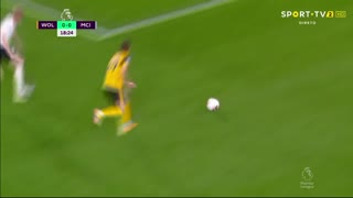 GOLO! Man. City, K. De Bruyne aos 20', Wolverhampton 0-1 Man. City