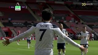 GOLO! Tottenham, Heung-Min Son aos 47', Southampton 1-2 Tottenham