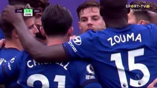 GOLO! Chelsea, T. Werner aos 15', Chelsea 1-0 Southampton