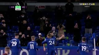 GOLO! Chelsea, O. Giroud aos 27', Chelsea 1-1 Leeds United