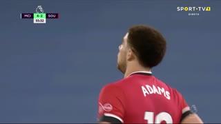 GOLO! Southampton, C. Adams aos 56', Man. City 4-2 Southampton