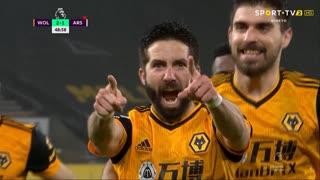 Premier League (22ª Jornada): Resumo Wolverhampton 2-1 Arsenal
