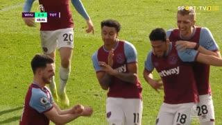 GOLO! West Ham, J. Lingard aos 47', West Ham 2-0 Tottenham