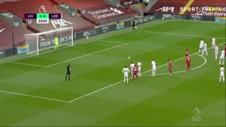 GOLO! Liverpool, Mohamed Salah aos 4', Liverpool 1-0 Leeds United