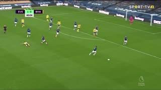 GOLO! Brighton, N. Maupay aos 41', Everton 1-1 Brighton