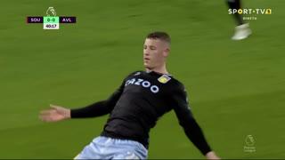 GOLO! Aston Villa, R. Barkley aos 41', Southampton 0-1 Aston Villa
