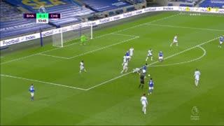 GOLO! Brighton, L. Trossard aos 54', Brighton 1-1 Chelsea