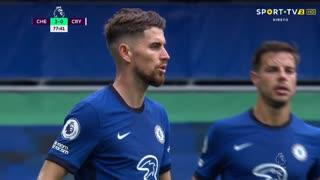 GOLO! Chelsea, Jorginho aos 78', Chelsea 3-0 Crystal Palace