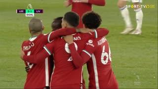 GOLO! Liverpool, S. Mané aos 31', Leeds United 0-1 Liverpool