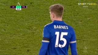 GOLO! Leicester City, H. Barnes aos 86', Leicester City 1-2 Fulham