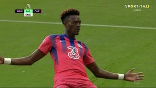 GOLO! Chelsea, T. Abraham aos 65', Newcastle 0-2 Chelsea