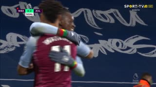 GOLO! Aston Villa, B. Traoré aos 84', West Bromwich Albion 0-2 Aston Villa