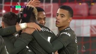 GOLO! Man. United, A. Martial aos 33', Sheffield United 1-2 Man. United