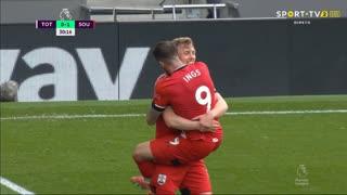 GOLO! Southampton, D. Ings aos 30', Tottenham 0-1 Southampton