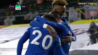 GOLO! Chelsea, M. Mount aos 78', Fulham 0-1 Chelsea