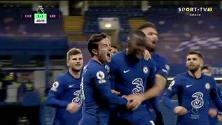 GOLO! Chelsea, K. Zouma aos 61', Chelsea 2-1 Leeds United