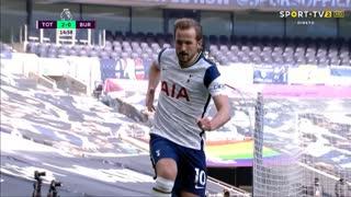 GOLO! Tottenham, H. Kane aos 15', Tottenham 2-0 Burnley