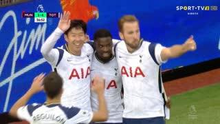 GOLO! Tottenham, Heung-Min Son aos 37', Man. United 1-4 Tottenham