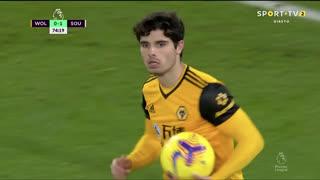 GOLO! Wolverhampton, Pedro Neto aos 75', Wolverhampton 1-1 Southampton