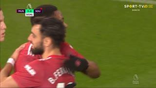 GOLO! Man. United, A. Martial aos 69', Man. United 5-0 Southampton