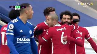 GOLO! Liverpool, Mohamed Salah aos 67', Leicester City 0-1 Liverpool