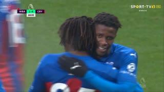 GOLO! Crystal Palace, W. Zaha aos 68', West Bromwich Albion 1-4 Crystal Palace