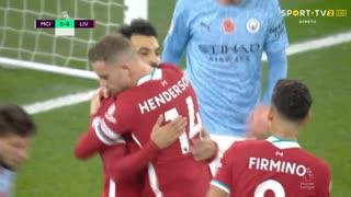 Liverpool, Penálti, Mohamed Salah aos 13'