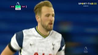 GOLO! Tottenham, H. Kane aos 68', Everton 2-2 Tottenham